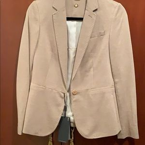 Massimo Dutti tan/beige blazer